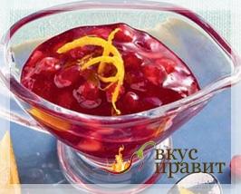 Соус фруктово-ягодный