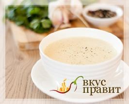 Суп молочный рисовый