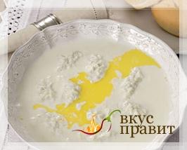Суп молочный с картофельными клецками
