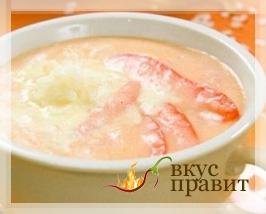Суп-пюре из риса