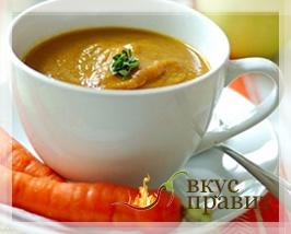 Суп-пюре из рыбы