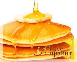 Блинчики с медом или сахаром