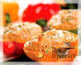 Блюда из красного сладкого перца (паприки)